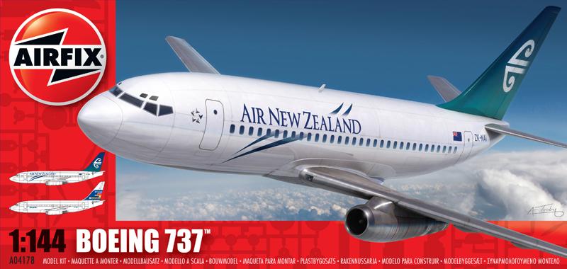 Сборная модель САМОЛЕТ BOEING 737