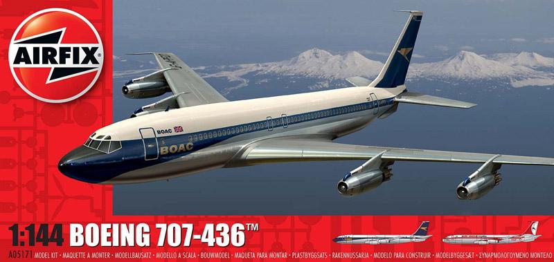 Сборная модель САМОЛЕТ BOEING 707
