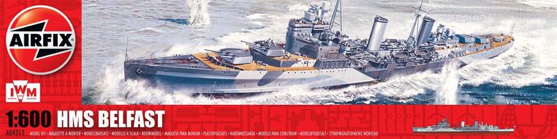 Сборная модель КОРАБЛЬ HMS BELFAST