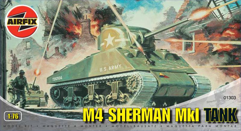 Сборная модель Танк SHERMAN M4 MK1
