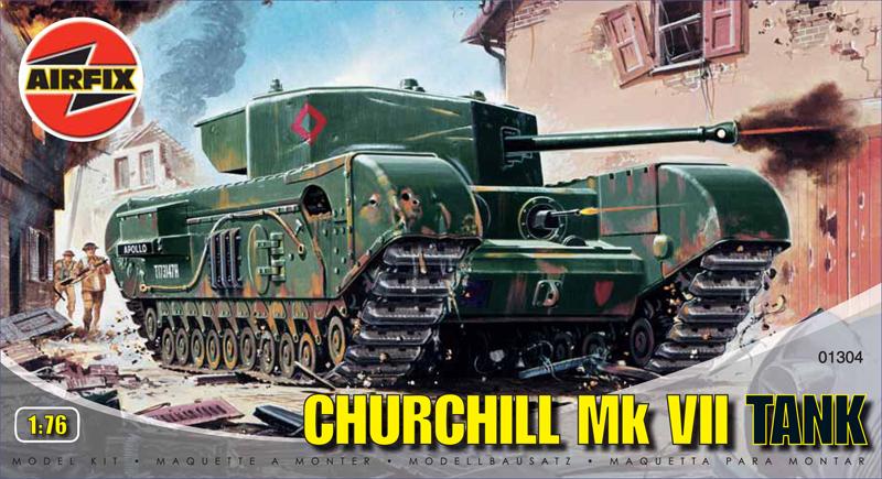 Сборная модель Танк CHURCHILL MK7
