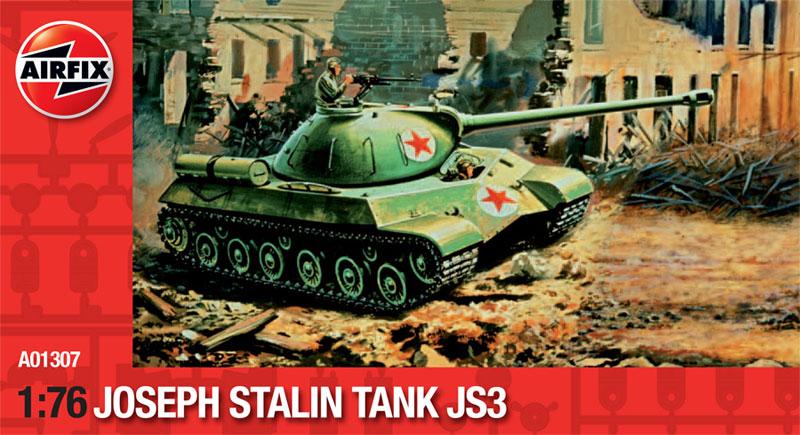 Сборная модель Танк JOSEP STALIN