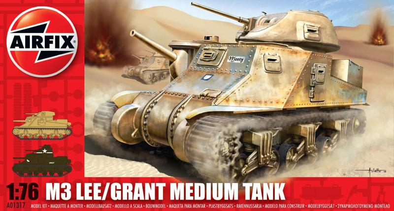 Сборная модель Танк LEE GRANT