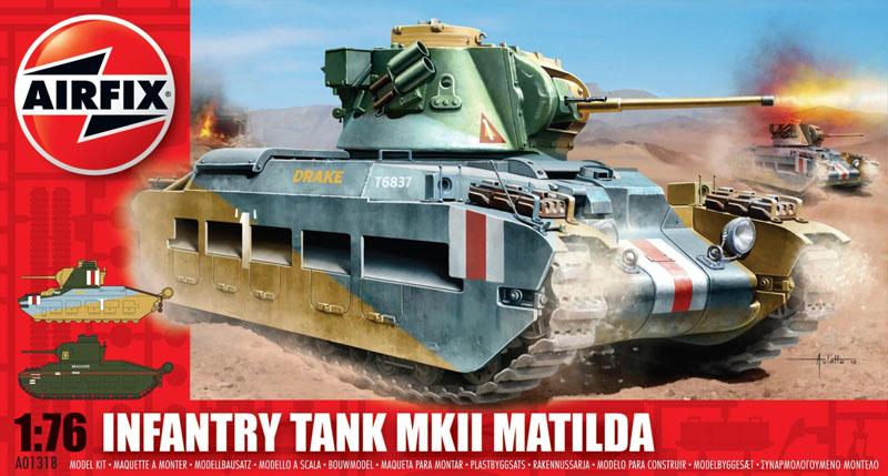 Сборная модель Танк MATILDA