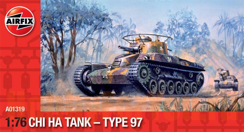 Сборная модель Японский танк CHI HA