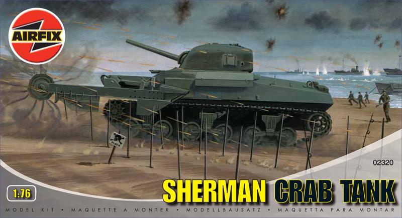 Модель Танк SHERMAN CRAB