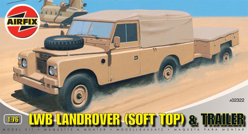 Модель Грузовик с трейлером LWB LANDROVER(SFT TOP)