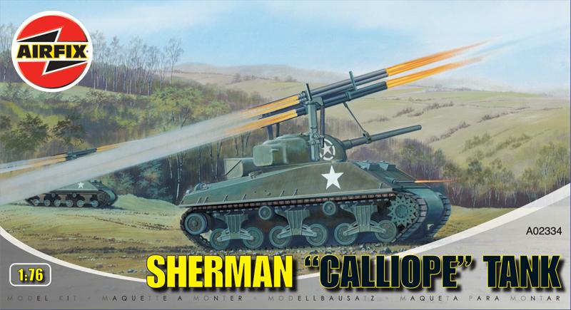 Сборная модель Танк SHERMAN CALLIOPE