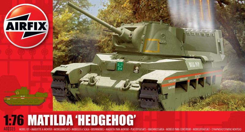 Сборная модель Танк MATILDA HEDGEHOG