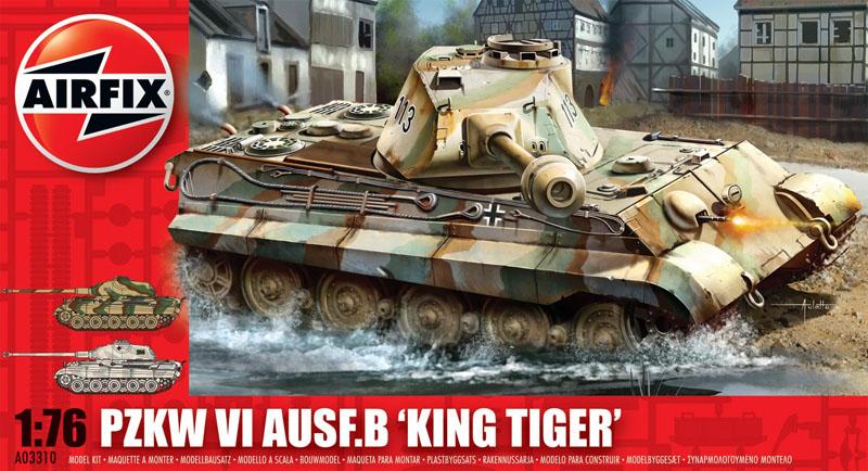 Сборная модель ТАНК KING TIGER