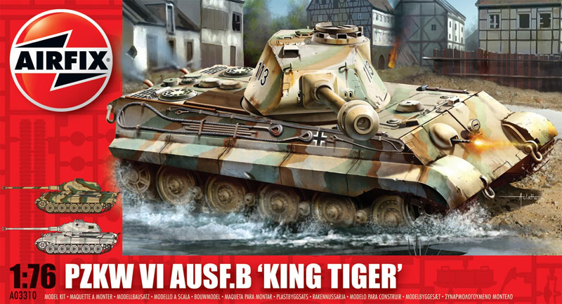 Модель ТАНК KING TIGER