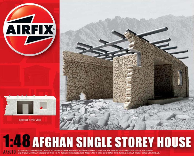 Сборная модель Афганский 1эт.дом