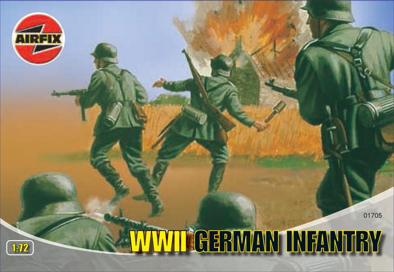 Сборная модель Нем.пехота второй мировой войны