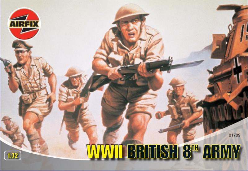Сборная модель Британская 8-я армия