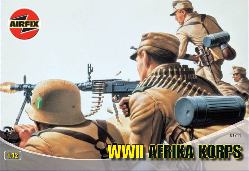 Сборная модель Африканский корпус
