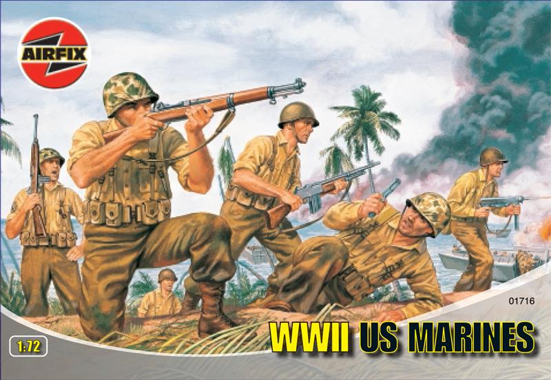 Сборная модель Американская морская пехота