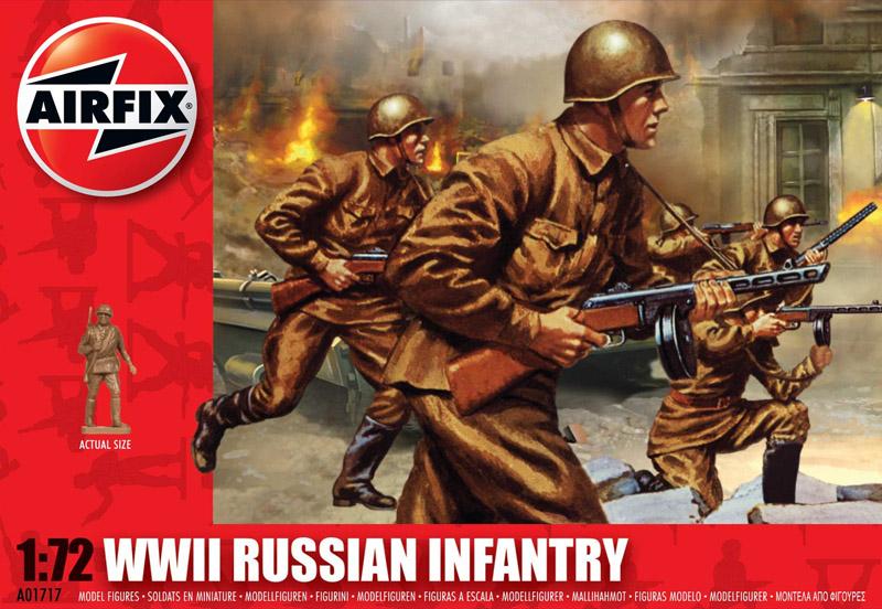 Сборная модель Русская пехота