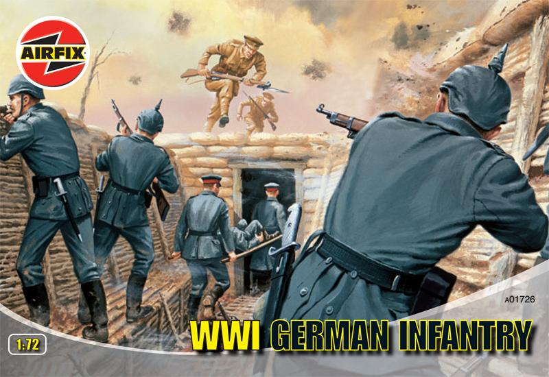 Сборная модель Немецкая пехота второй мировой войны