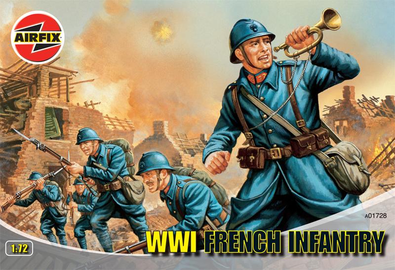 Сборная модель Французская пехота второй мировой войны