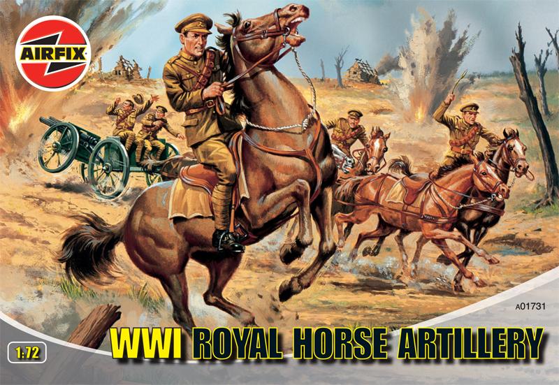 Сборная модель Королевская конная артиллерия
