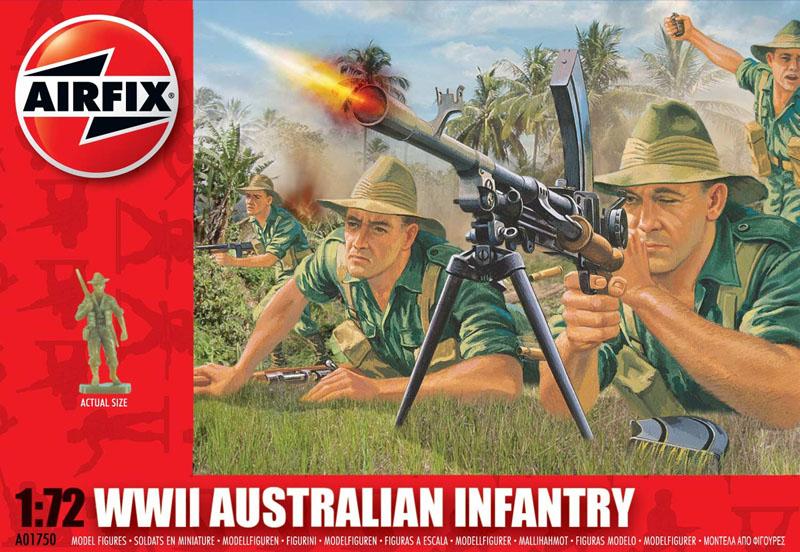 Сборная модель Австралийская пехота
