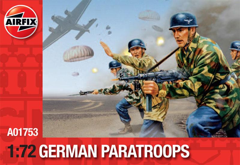 Модель Немецкие парашютисты
