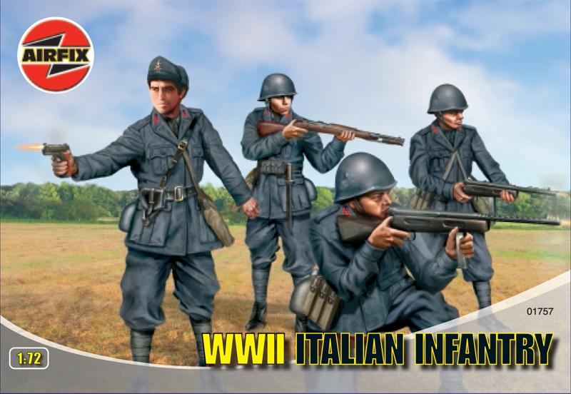 Сборная модель Итальянская пехота