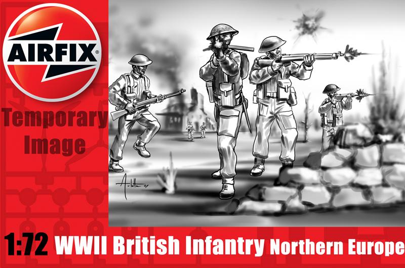 Модель Британская пехота WWII