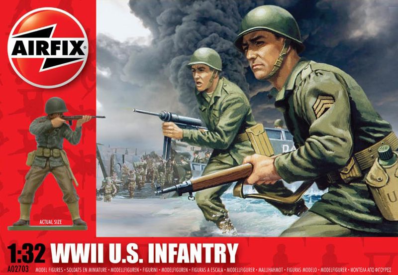 Модель Американская пехота