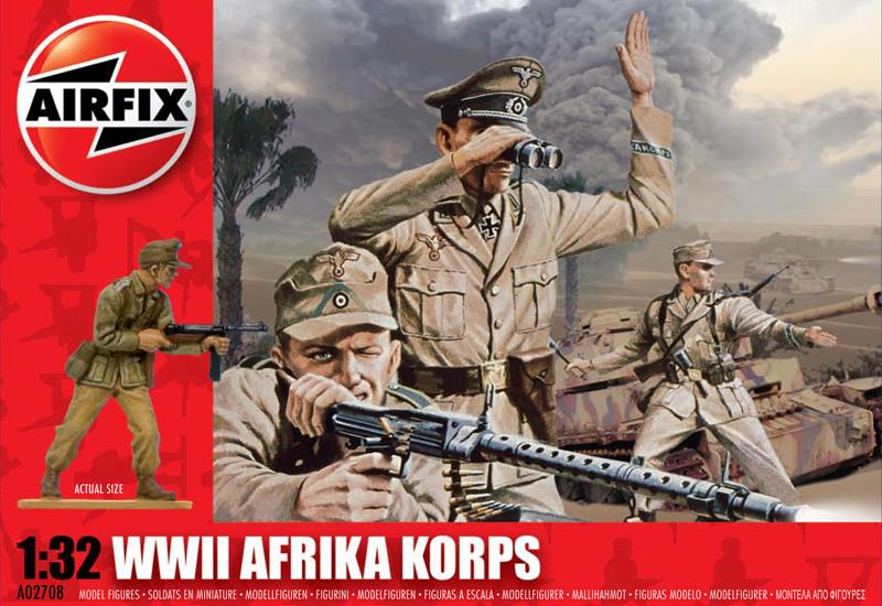 Модель Немецкая пехота. Африка