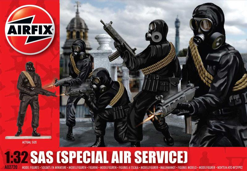 Сборная модель Войска SAS