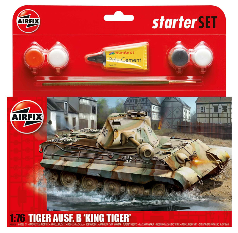 ТАНК KING TIGER  1/76