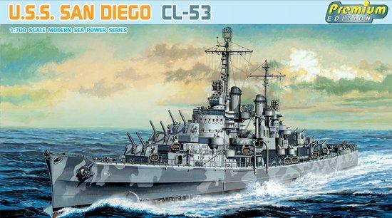 Сборная модель Корабль USS San Diego