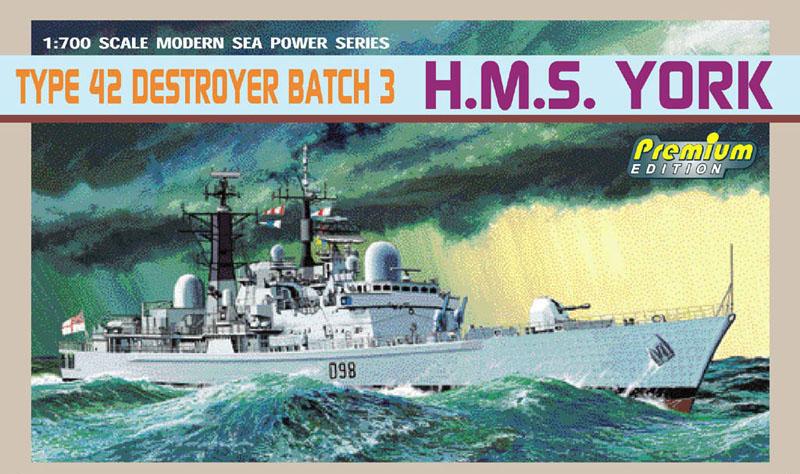 Модель Корабль RN TYRE 42 DESTROYER BATCH 3