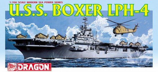 Сборная модель Вертолетоносец U.S.S. BOXER LPH-4