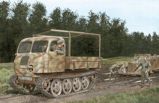 Сборная модель Гусеничный тягач RSO/1 Type 470