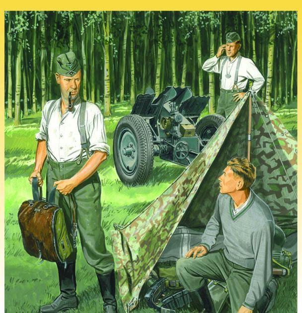Сборная модель Нем.воен.лагерь