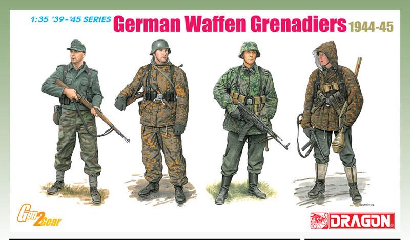 Сборная модель Немецкие гренедеры