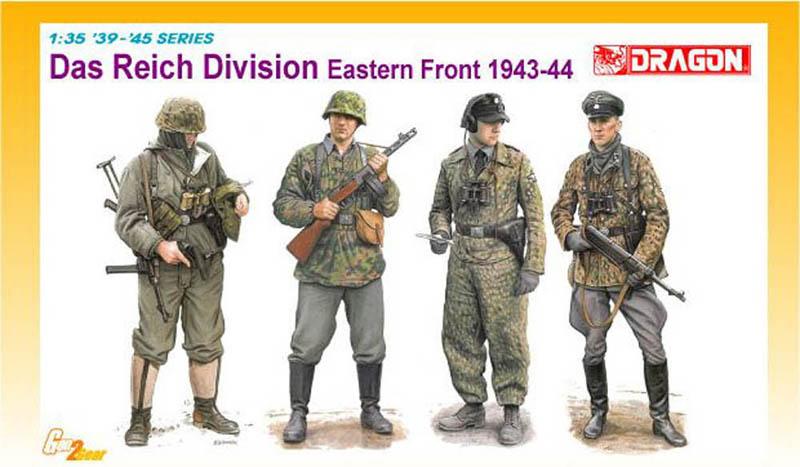 Сборная модель Дивизия Рейх(Восточный фронт)