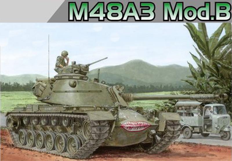 Сборная модель Танк  M48A3 MOD.B