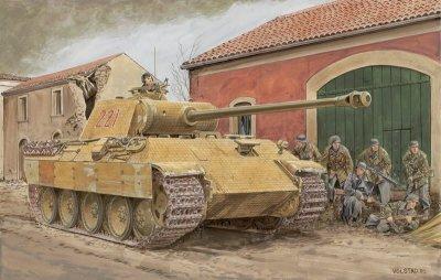 Сборная модель ТАНК  PANTHER Ausf.A РАННИЙ