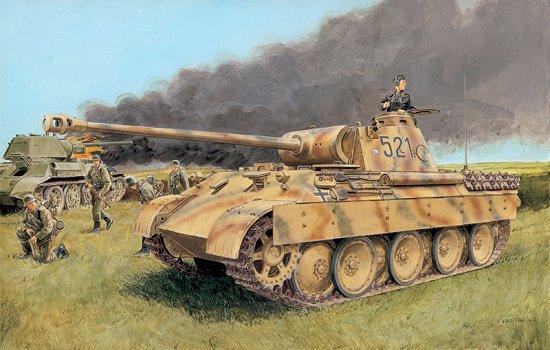 Модель ТАНК  Sd.Kfz. 171 PANTHER Ausf.D