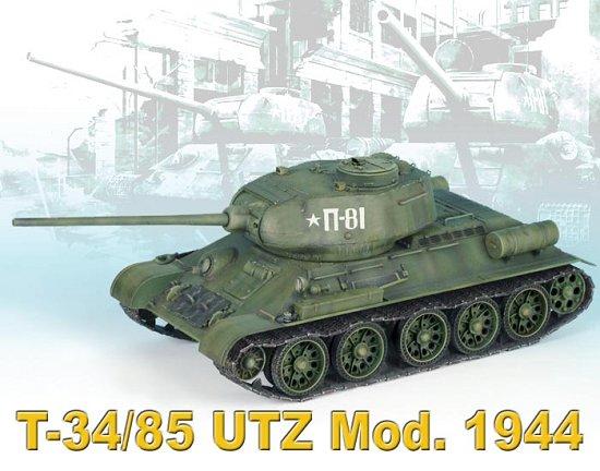 Сборная модель ТАНК T-34/85 UTZ МОД.1944