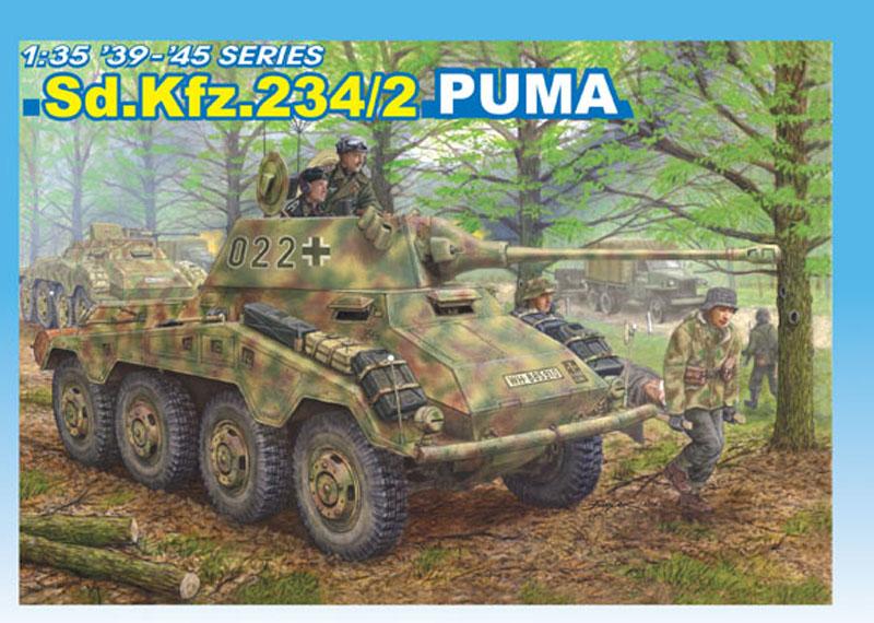 Бронетранспортер Sd.Kfz.234/2 Puma