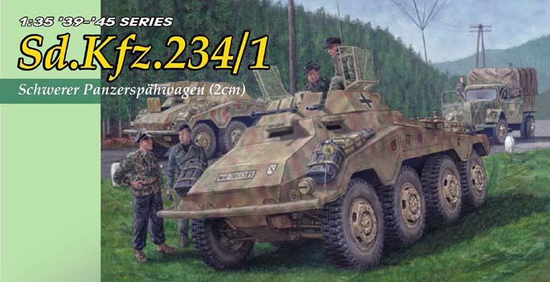 Сборная модель Танк Sd.Kfz.234/1