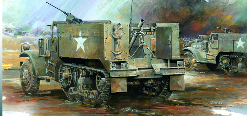 Модель Бронетранспортер M4 81mm Motar Carrier