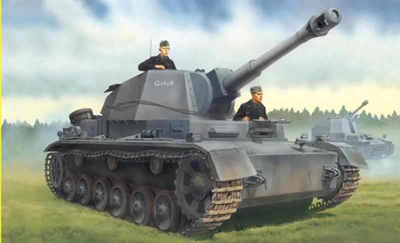 Модель Танк Pz.Sfl.Ivb 10.5cm le.F.H.18/1 Sd.Kfz.165/1 Ausf.A