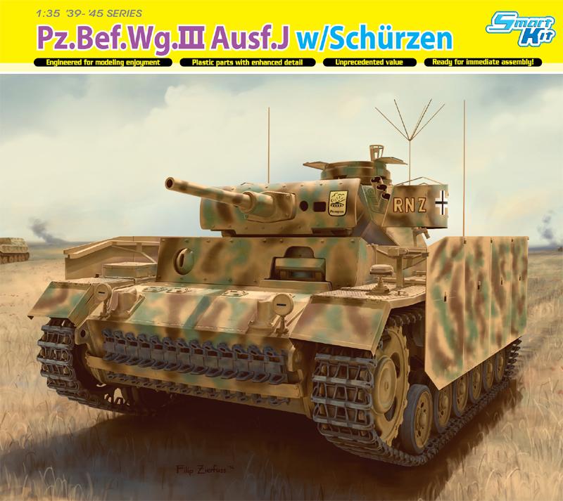 Модель ТАНК Pz.Bef.Wg.lll Ausf.J