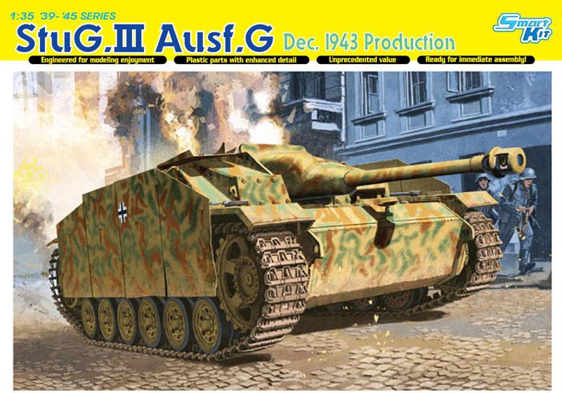 Сборная модель Самоходка StuG.III Ausf.G AUG 43