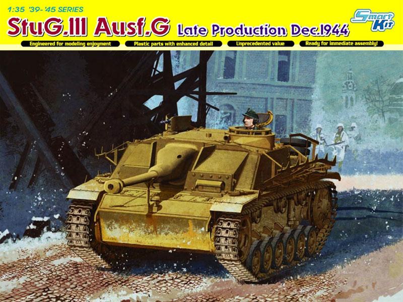 Сборная модель Самоходка StuG.MI Ausf.G дек 44